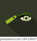 Type of eye makeup. Cat Eyeliner Tutorial. Stylish 39419607