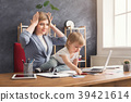 baby, mother, work 39421614