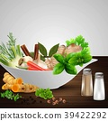Different seasonings, condiment and spices 39422292