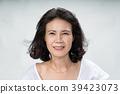 Portrait of beautiful mature asian woman 39423073