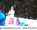 雪坡 冬季运动 玩耍 39426204