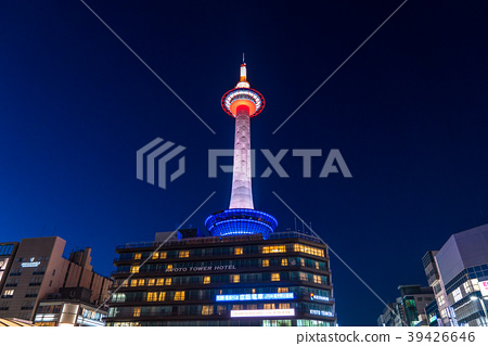 """""""교토""""교토 타워의 야경 39426646"""