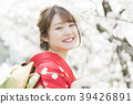 A woman wearing a kimono with a kimono 39426891