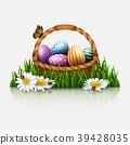 復活節 籃子 問候 39428035