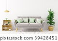 Interior of living room with sofa 3d rendering 39428451