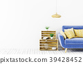 Interior of living room with sofa 3d rendering 39428452