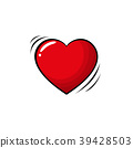 heart, pop, art 39428503