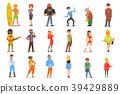 people cartoon vector 39429889