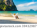 krabi,beach,woman 39432987