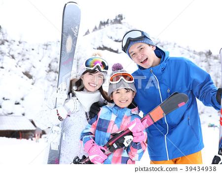가족 스키 39434938