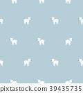 Chihuahua dog seamless vector pattern. 39435735
