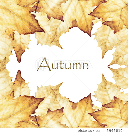 Autumn with place for text 39436194