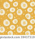 seamless, flower, vector 39437319