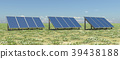 Solar panels in a landscape 39438188