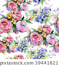 floral, watercolor, colorful 39441621