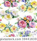 floral, watercolor, colorful 39441639