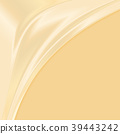 Abstract yellow fabric texture background Vector 39443242