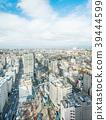 city skyline aerial view of bunkyo, tokyo, Japan 39444599