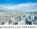 city skyline aerial view of bunkyo, tokyo, Japan 39444605