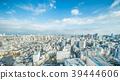 city skyline aerial view of bunkyo, tokyo, Japan 39444606