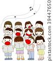 合唱 孩子 兒童的 39447650
