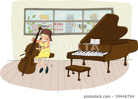 Playing Illustration, Vector, Illustration 39448784