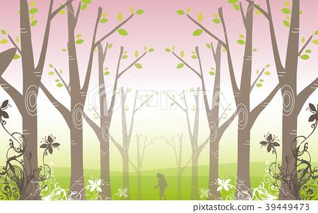 Spring illustration, vector, illustration 39449473
