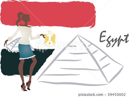 Travel illustration, vector, illustration 39450002