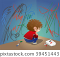 unhappy child corner 39451443