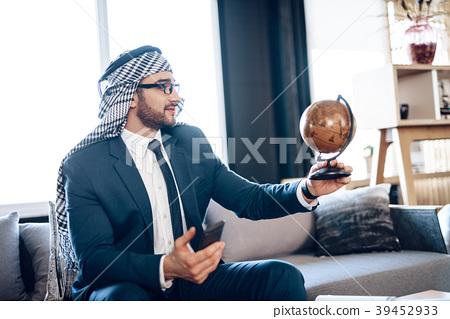 Arab businessman  39452933
