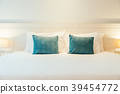 Pillow on bed 39454772