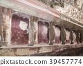 폼페이 유적 로마의 목욕탕 미온 욕실 남자 립 코끼리를 볼 벽 39457774