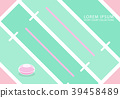 Sport Court,Rugby Court Minimal background 39458489