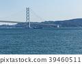 아카시 해협 대교, 바다, 다리 39460511