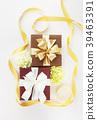 리본, 선물, 카네이션 39463391
