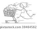 cart, cartoon, art 39464562