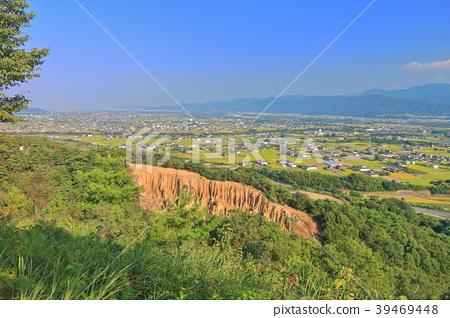 เสาหลักของ Awa (Wave Mount) และ Tokushima Plain 39469448