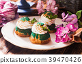 Sweet choux pastry  39470426