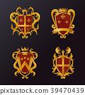shield emblem vector 39470439