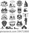 logo, camp, vector 39471868