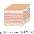 人體皮膚的剖面三維圖(沒有字符) 39476652