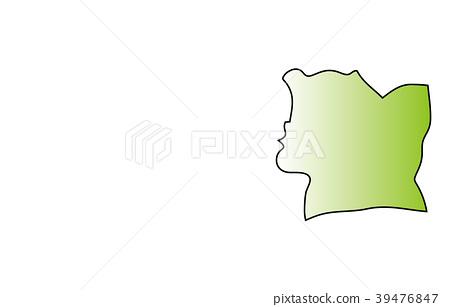 世界地圖科特迪瓦 39476847