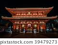 วัด Asakusa Senso-ji ในเวลากลางคืน 39479273