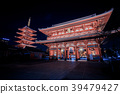 Asakusa Senso-ji Temple by night 39479427