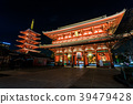 Asakusa Senso-ji Temple by night 39479428