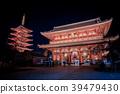 วัด Asakusa Senso-ji ในเวลากลางคืน 39479430