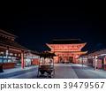 ห้องโถงหลักในวัด Asakusa night Sensoji 39479567