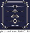 floral, design, element 39480138