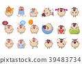 character set cartoon 39483734
