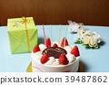 蛋糕 生日 生日蛋糕 39487862